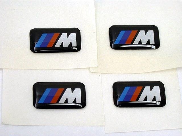 bmw m sport wheel emblem badge set sticker decal ebay. Black Bedroom Furniture Sets. Home Design Ideas