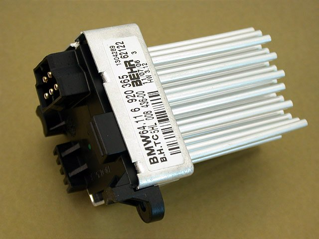 Bmw E46 E83 Blower Motor Resister Updated Hvac Final Stage