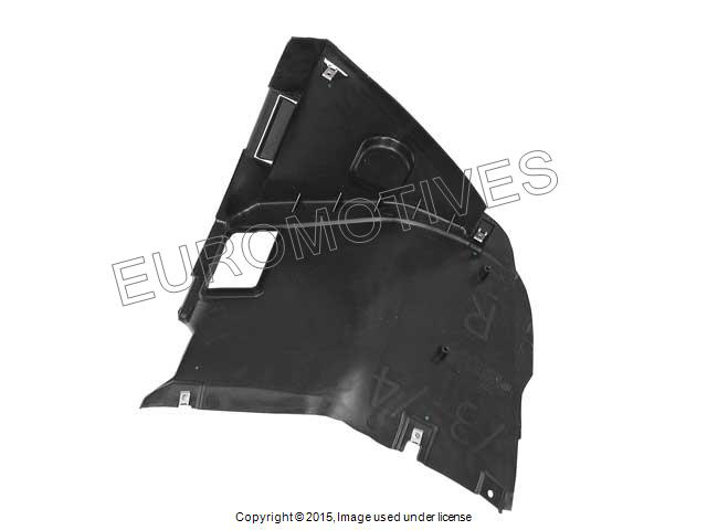 BMW e46 COUPE//CONV splash guard Fender Liner RIGHT Front Fore